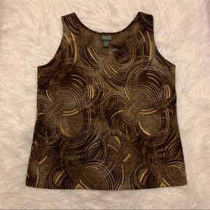 Additions By Chico's Top Size 2 (Fits Size 12) NWT